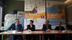 Persbijeenkomst 'De wolf in Drenthe'