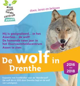 Nieuwe expositie 'De wolf in Drenthe' vanaf 21 december